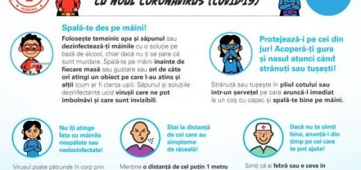 Cum sa te protejezi de coronavirus - sfaturi pentru copii - Landscape
